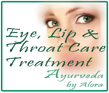 Eye, Lip and Throat Care Treatment